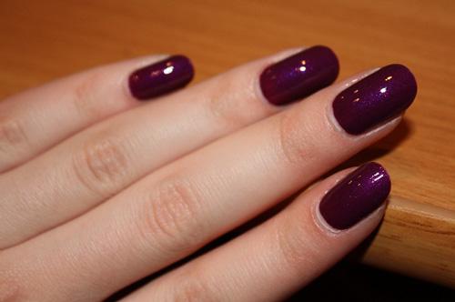 фото ногти однотонные красивые