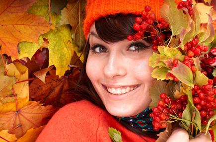 Осенние маски и лосьоны для лица
